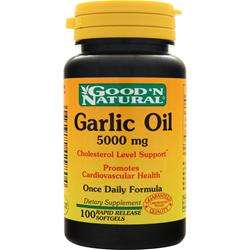 GOOD 'N NATURAL Garlic Oil (5000mg) 100 sgels