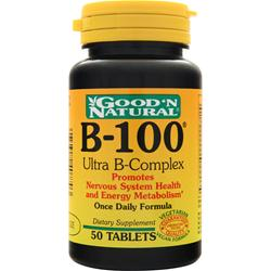 GOOD 'N NATURAL B-100 Ultra B-Complex 100 tabs