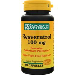 GOOD 'N NATURAL Resveratrol (100mg) 60 caps