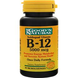 GOOD 'N NATURAL B-12 (5000mcg) (Sublingual) 30 lzngs