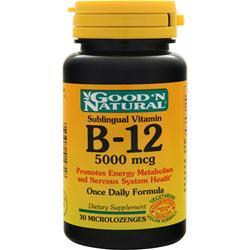 Good 'N Natural B-12 (5000mcg) (Sublingual) 30 lzngs