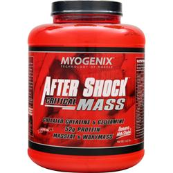 MYOGENIX After Shock Critical Mass Banana Milk Shake 5.62 lbs