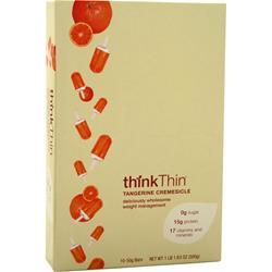Think Thin Think Thin Bar Tangerine Cremesicle 10 bars