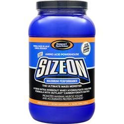 GASPARI NUTRITION SizeOn Maximum Performance Orange Cooler 3.5 lbs