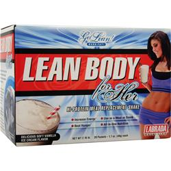 Labrada Lean Body for Her Vanilla Ice Cream 20 pckt