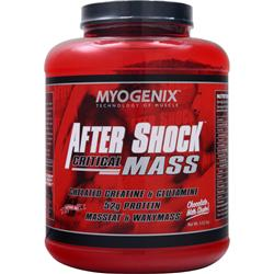 MYOGENIX After Shock Critical Mass Chocolate Milk Shake 5.62 lbs