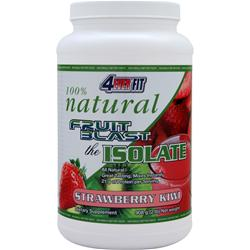 4 Ever Fit Fruit Blast the Isolate - 100% Natural Strawberry Kiwi 2 lbs