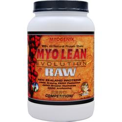 MYOGENIX Myo Lean Evolution RAW Vanilla 2.48 lbs