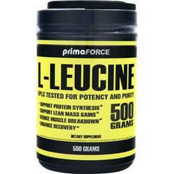 Primaforce L-Leucine 500 grams