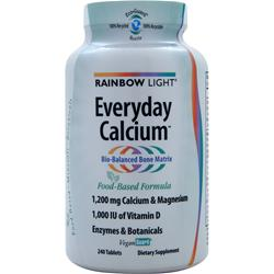 RAINBOW LIGHT Everyday Calcium with Enzymes 240 tabs