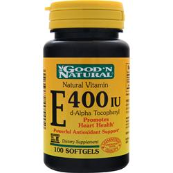 Good 'N Natural Vitamin E (400IU) 100 sgels