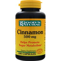 GOOD 'N NATURAL Cinnamon (500mg) 100 caps