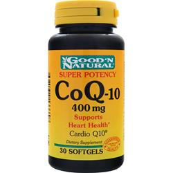 GOOD 'N NATURAL CoQ-10 (400mg) 30 sgels
