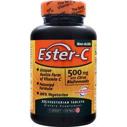 American Health Ester-C with Citrus Bioflavonoids (500mg) 225 tabs