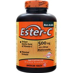 AMERICAN HEALTH Ester-C with Citrus Bioflavonoids (500mg) 240 caps