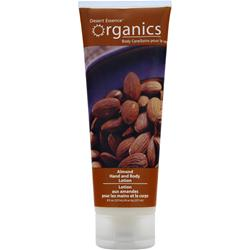 DESERT ESSENCE Organics Hand & Body Lotion Almond 8 fl.oz