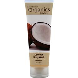 DESERT ESSENCE Organics Body Care Body Wash Coconut 8 fl.oz