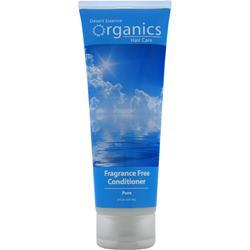 Desert Essence Organics Hair Care Conditioner Frangrance Free 8 fl.oz