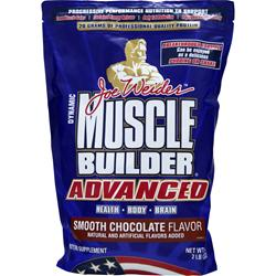 WEIDER Muscle Builder Advanced Smooth Chocolate 2 lbs