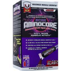 Allmax Nutrition BCAA Aminocore Packets 20 pckts