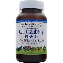 ECLECTIC INSTITUTE Fresh Freeze-Dried U.T. Cranberry POW-der 68 grams