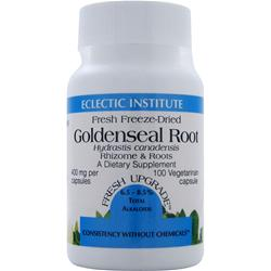 ECLECTIC INSTITUTE Fresh Freeze-Dried Goldenseal Root 100 vcaps