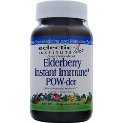 Eclectic Institute Fresh Freeze-Dried Elderberry Instant Immune POW-der 60 grams