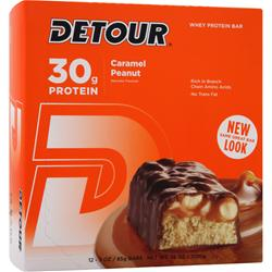 FORWARD FOODS Detour Bar Caramel Peanut 12 bars