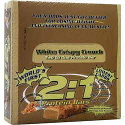 Metragenix 2:1 Protein Bar White Crispy Crunch 12 bars