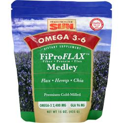 Health From The Sun Omega 3-6 FiProFLAX Medley Flax/Hemp/Chia 15 oz