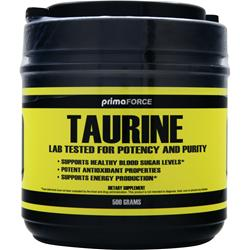 PRIMAFORCE Taurine 500 grams