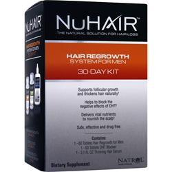 Nu Hair Hair Regrowth System For Men 1 kit