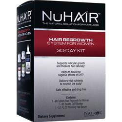 NU HAIR Hair Regrowth System for Women 1 kit
