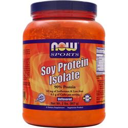 NOW Soy Protein Isolate Unflavored 2 lbs