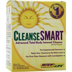 RENEW LIFE CleanseSmart 120 vcaps