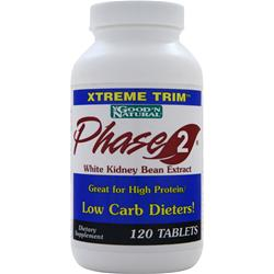 Good 'N Natural Xtreme Trim Phase 2 - White Kidney Bean Extract 120 tabs