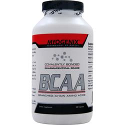 MYOGENIX Pharmaceutical Grade BCAA 300 caps