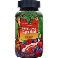 IRWIN NATURALS Irwin Kids BerryLicious Super Multi 30 chews