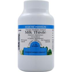 ECLECTIC INSTITUTE Fresh Freeze-Dried Milk Thistle 240 vcaps