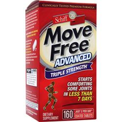 SCHIFF Move Free Advanced Triple Strength 160 tabs