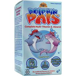 Country Life Sour Gummy Dolphin Pals Children's Multi 90 gummy