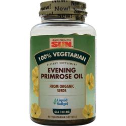 HEALTH FROM THE SUN 100% Vegetarian Evening Primrose Oil 90 sgels