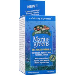 Garden Greens Marine Greens Sea Algae Formula 90 caps