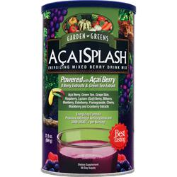 GARDEN GREENS AcaiSplash (powder) 23.5 oz