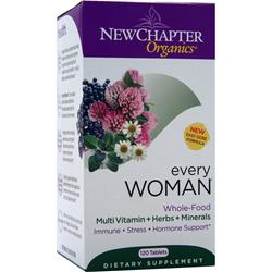NEW CHAPTER Organics - Every Woman 120 tabs