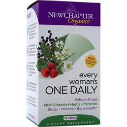 NEW CHAPTER Every Woman's One Daily Multi 72 tabs
