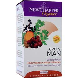 NEW CHAPTER Organics - Every Man 120 tabs