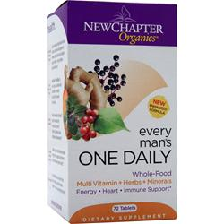NEW CHAPTER Organics - Every Man's ONE DAILY 72 tabs