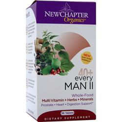 NEW CHAPTER Organics - 40+ Every Man II 96 tabs