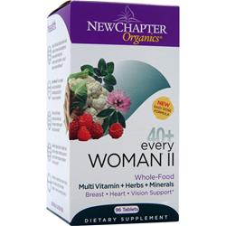 NEW CHAPTER Organics 40+ Every Woman II 96 tabs